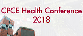 CPCE Health Conference, January 2018